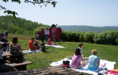First annual Spring Fling event at Carter Mountain in 2010