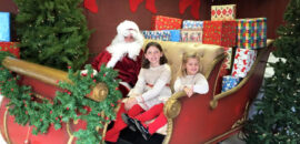 Breakfast with Santa Claus at the Orchard in Charlottesville