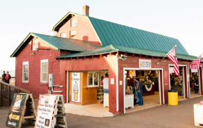 Ice cream, donuts, apples, pies, and more at the Carter Mountain Orchard store