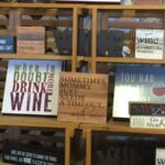 new merchandise at Carter Mountain, wine