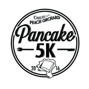 Chiles Pancake 5K race logo