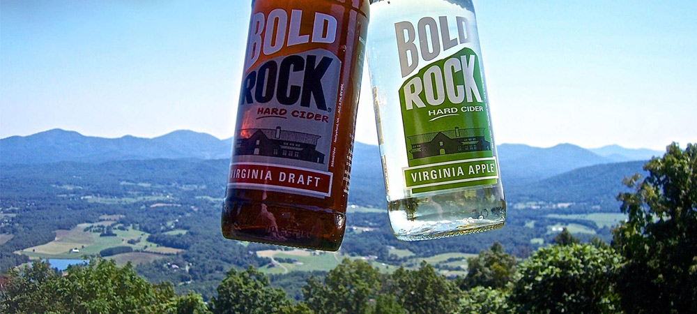 Bold Rock Hard Cider on Carter Mountain