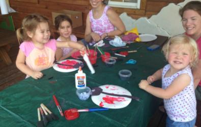 Making crafts