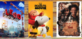 Free screenings of Lego Movie, Peanuts Movie, and Hook