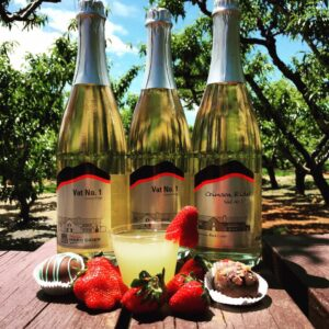 Bold Rock Hard Cider premium bottles at Chiles
