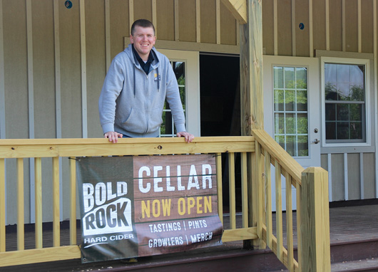 Bold Rock Outpost in Crozet