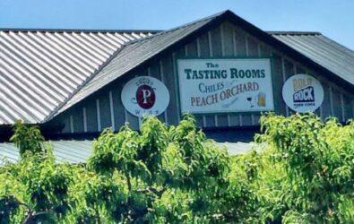 Chiles tasting rooms exterior signage