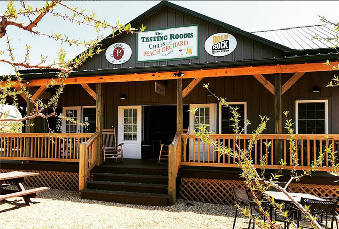 Bold Rock Tap Room at Chiles Peach Orchard