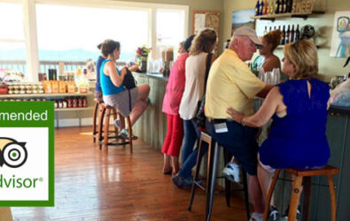 "Photo of the Wine Shop at Carter Mountain taken by TripAdvisor user Tammi F., captioned ""Hidden gem above Monticello"""