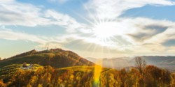 Carter Mountain orchard mountain view