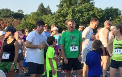 Runners at the 4th Annual Pancake 5K