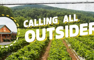 Chiles Peach Orchard outsiders marketing campaign agritourism marketing