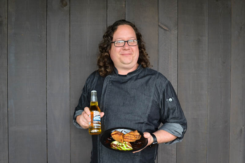 Chef Stefan, Executive Chef of Carter Mountain Mountain Grill