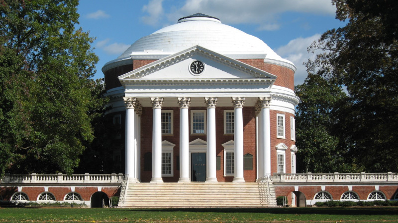 UVA Rotunda Grounds