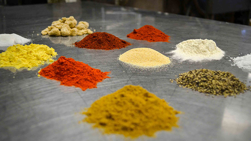 Ingredients for Carter Mountain Orchard Mountain Grill barbeque spice rub