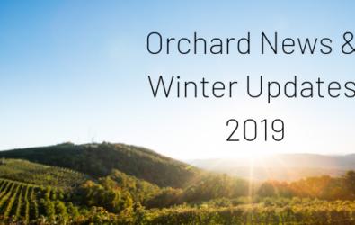 Orchard News & Winter Updates 2019