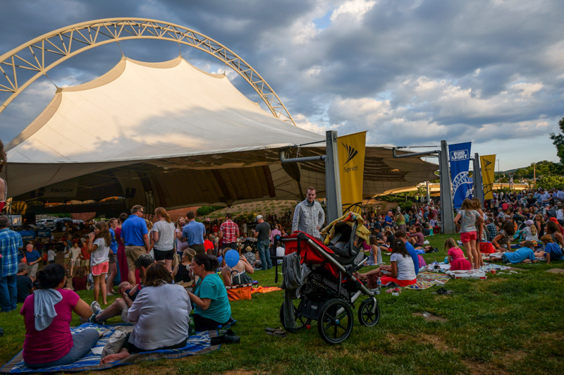 Fridays After Five free concert event in Charlottesville