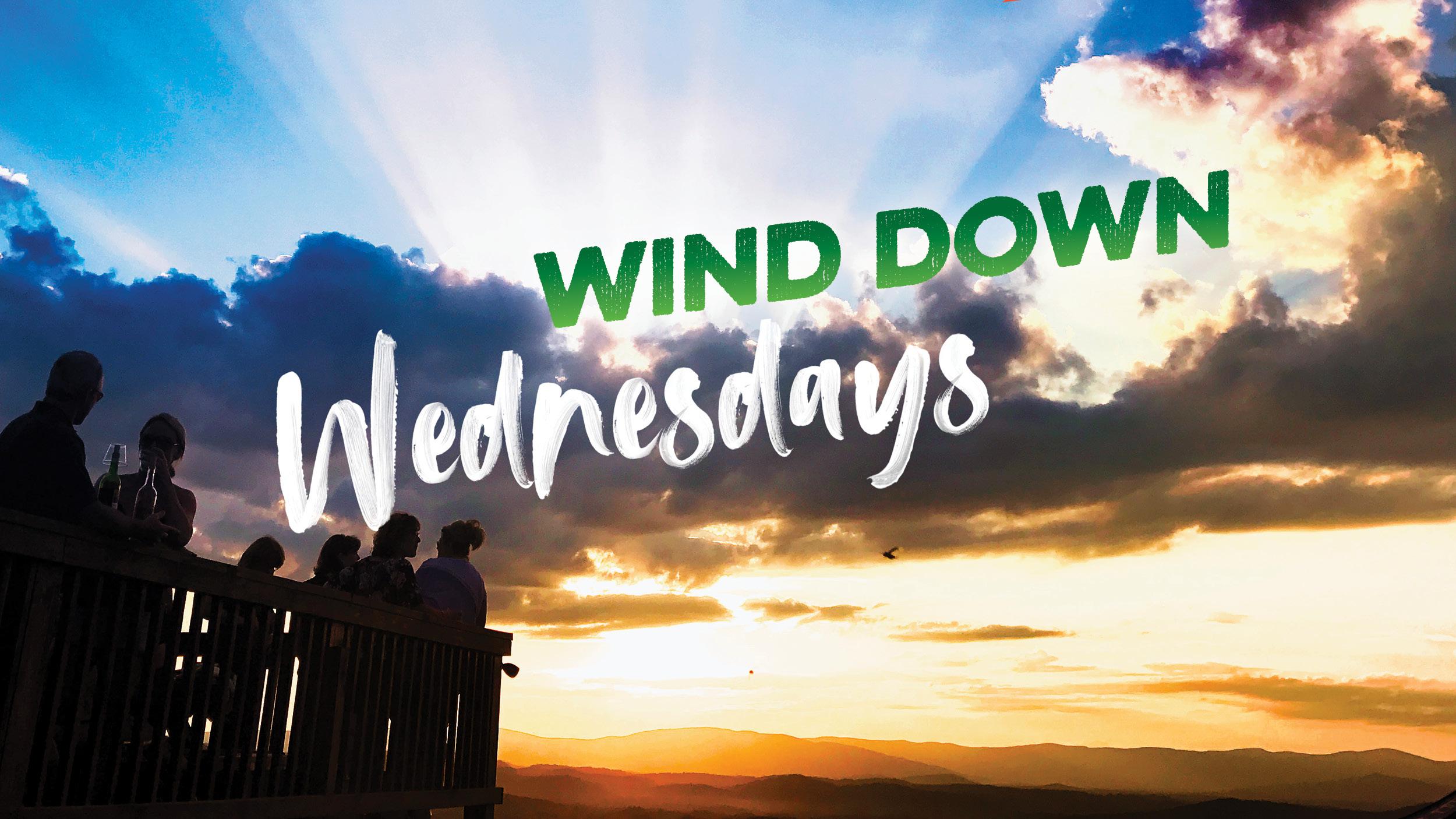 Wind Down Wednesdays graphic