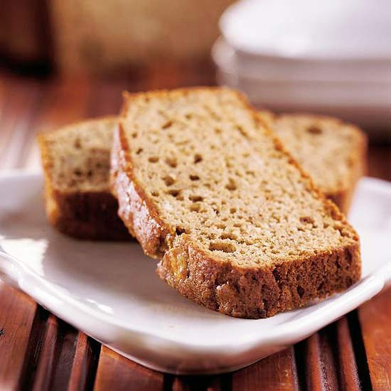 Apple Butter-Banana Bread recipe by BHG