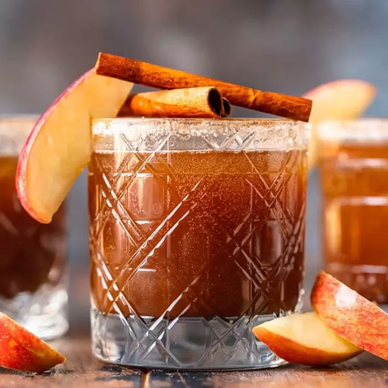 Apple Butter Old Fashioned Cocktail