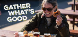 Gather what's good at Carter Mountain Orchard, including donuts, hard cider, apples, and more