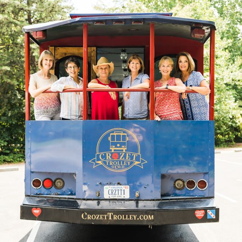 Crozet Trolley Co. Photo by @xiaoqiliphotography