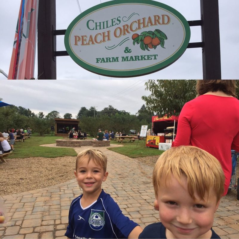 Crozet Trolley Co. rides to Chiles Peach Orchard