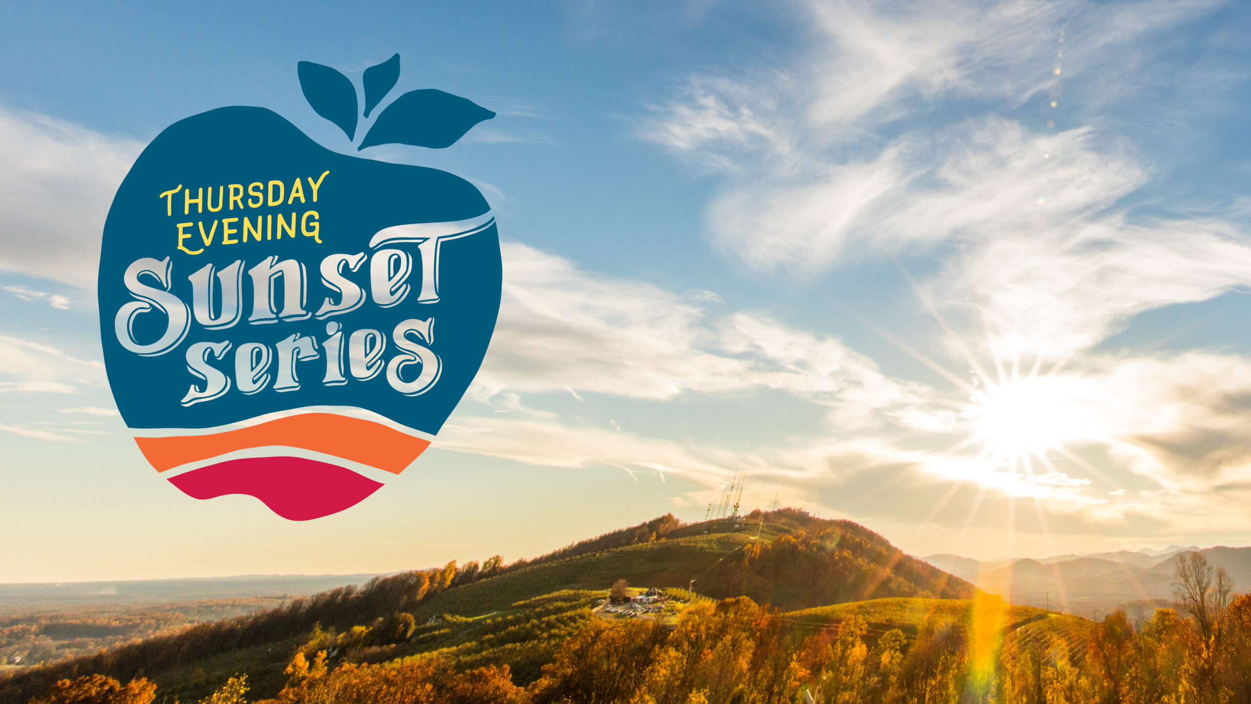 Carter Mountain Orchard's Thursday Evening Sunset Series with live music every Thursday