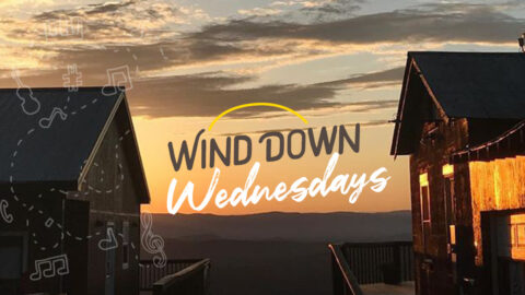 Wind Down Wednesdays musical event series weekly in the summer at Carter Mountain Orchard