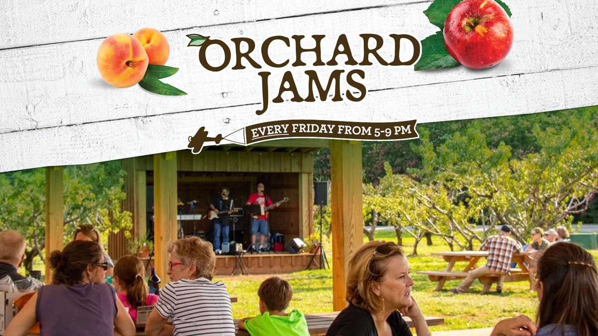 Orchard Jams free music event at Chiles Peach Orchard