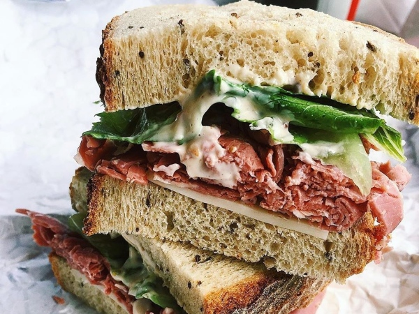 Take-It-Away Sandwich with House Dressing