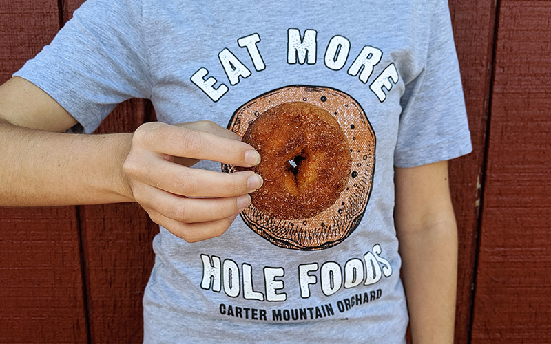 Eat more hole foods (donuts)