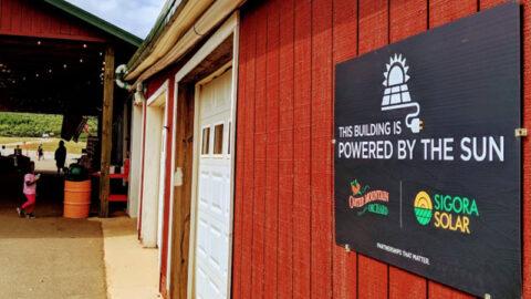 Apple Barn is Powered by the Sun thanks to Sigora Solar