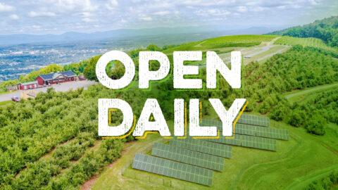 Carter Mountain Orchard Open Daily