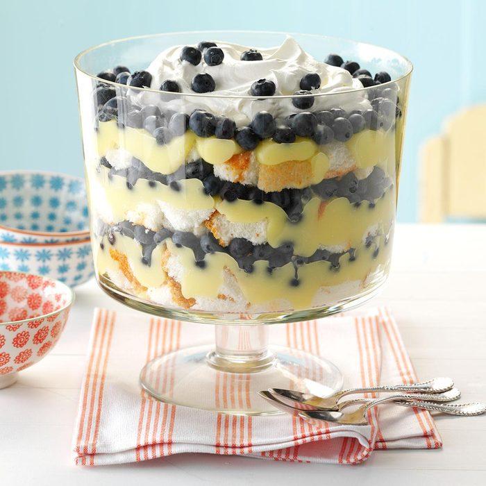 Blueberry Lemon Trifle recipe from Taste of Home