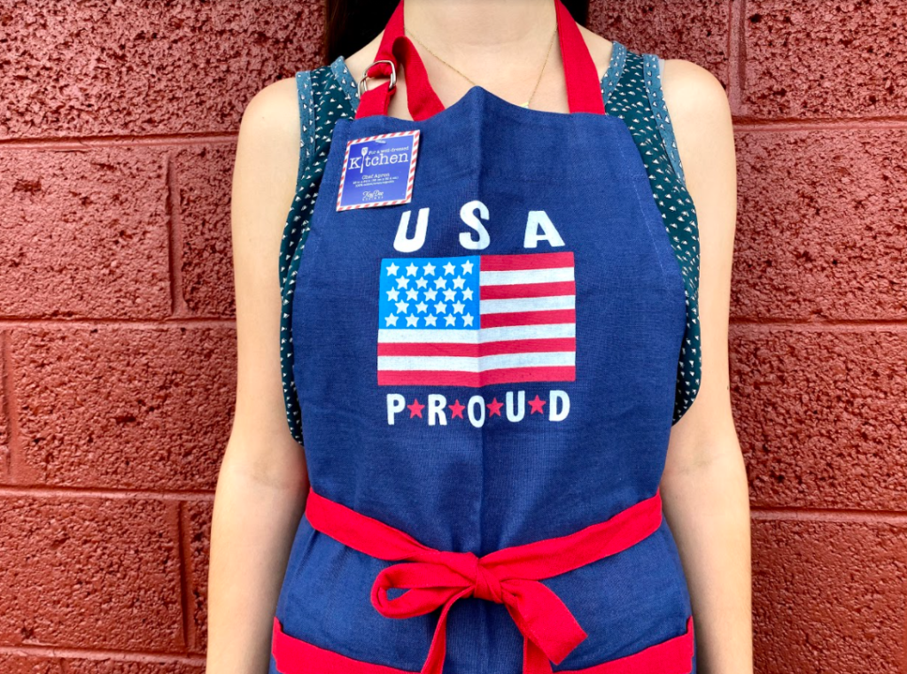 USA Proud apron at Carter Mountain Country Store