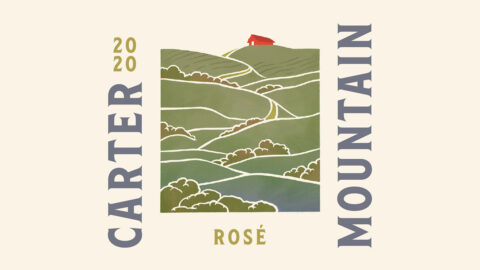 Carter Mountain Wine Rose 2020