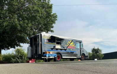 Little Manila food truck at Carter Mountain Orchard